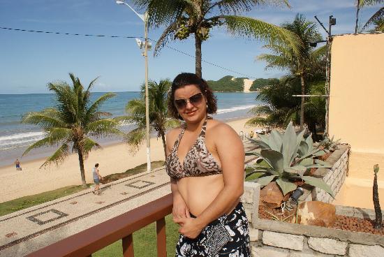Manary Praia Hotel : bem de frente ao mar