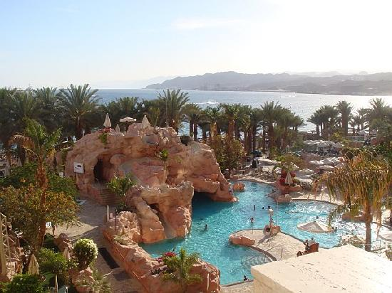 Dan Eilat: view from the room