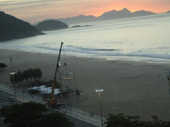Río de Janeiro, RJ: Amanecer vista a Leme