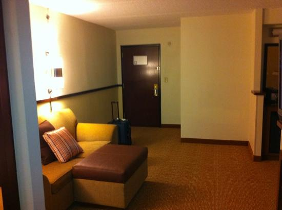 Hyatt Place Dallas/Grapevine: large seating area in the hotel room
