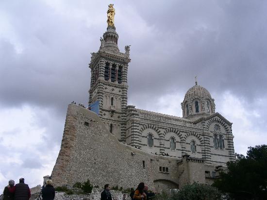 Marsiglia, Francia: Notre Dame de la garde