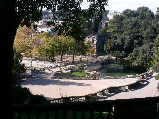 Ним, Франция: Jardin de Nimes