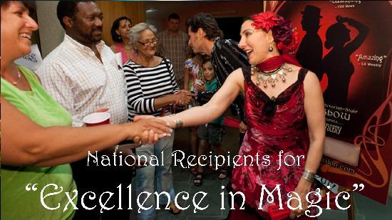 "Carnival of Illusion : National Recipients for ""Excellence in Magic"""