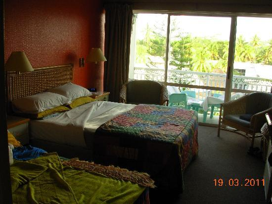 Sheraton Samoa Aggie Grey's Hotel & Bungalows: our room