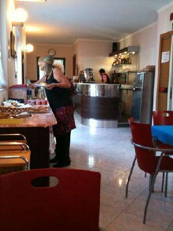 Hotel Galata : Breakfast room in the 3rd floor