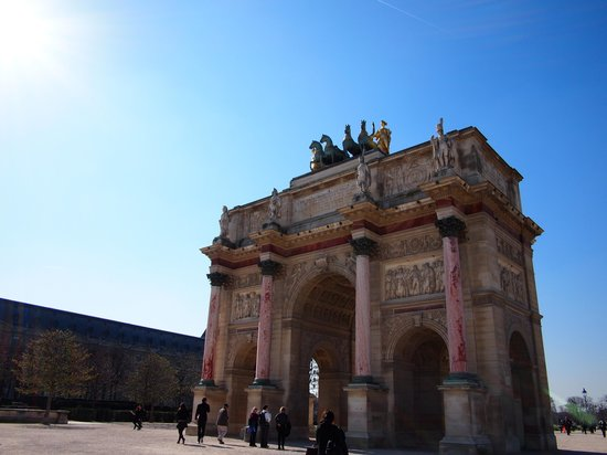City Wonders: Arc de Triomphe du Carrousel - meeting point