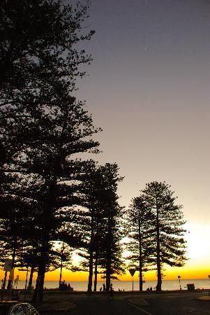 Cottesloe Beach: Silhouette