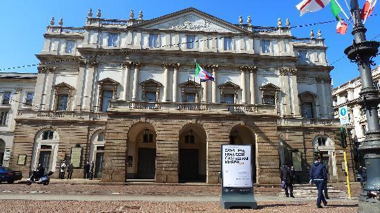 Scala de Milan (Teatro alla Scala) : Scala