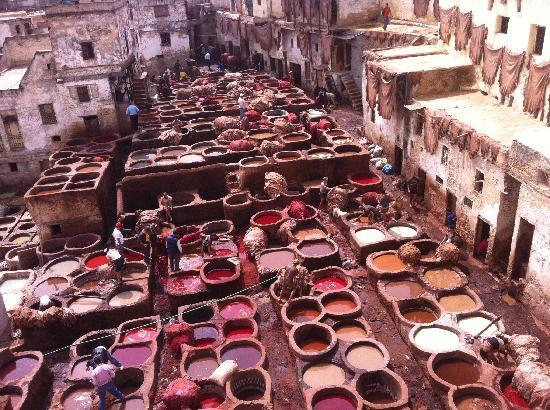 Riad Dollar Des Sables: couleurs splendides