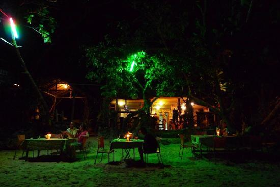 Pulau Kapas, Malezja: Candle Light Dinner