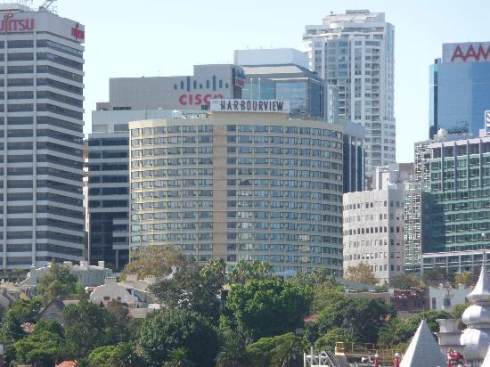 View Of The Hotel From The Ferry Picture Of North Sydney