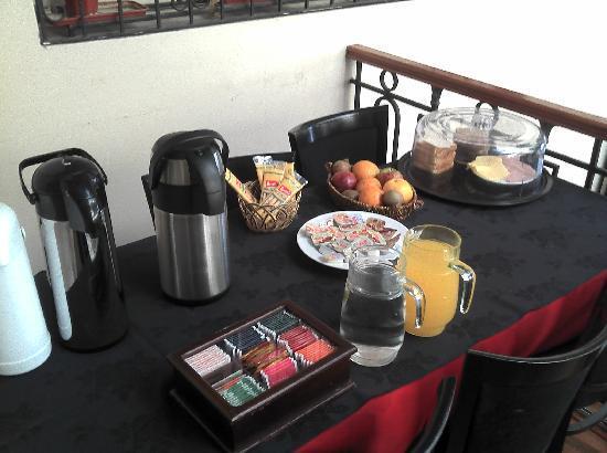 Complejo Tango Hotel Boutique: Das Frühstücksbüffet