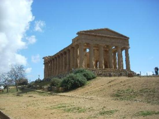 The Temple of Concord is one of the most photogenic buildings in Sicily