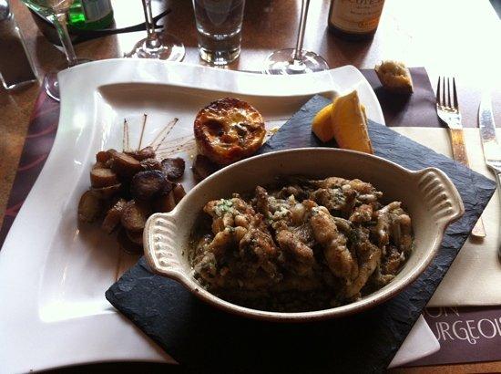 Le Bon Bourgeois : cuisse de grenouille fraiche