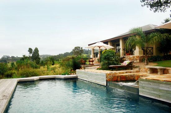 Narnia Farm Guest House: the poolhouse