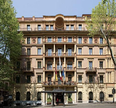 Ambasciatori Palace Hotel : Ingresso