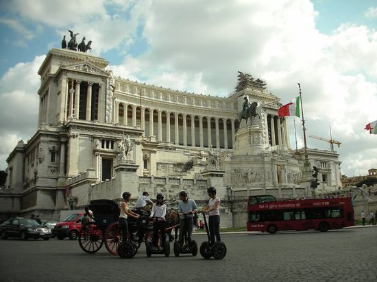 CSTRents Segway Tours: Rome