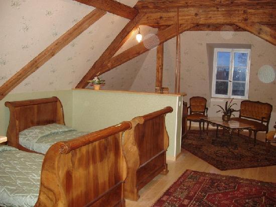 Chateau de Werde : la chambre de mes beaux-parents