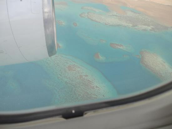 Coral Sea Holiday Village : from plane