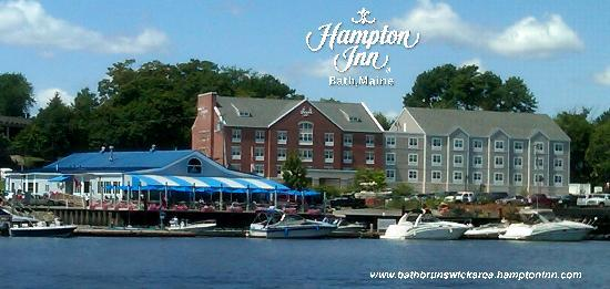 Hampton Inn Bath Brunswick: Views from the Kennebec River