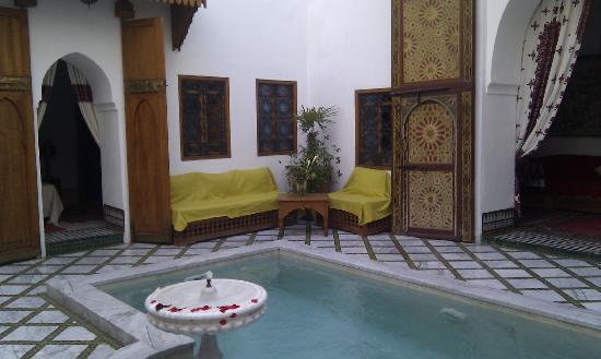 Riad Zineb: La piscine