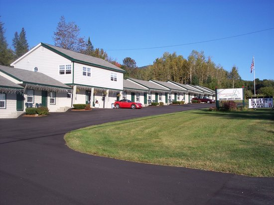 Jefferson, Nueva Hampshire: Front of the Motel