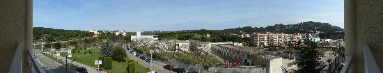 Evenia Olympic Park: Vue de la chambre d'hôtel