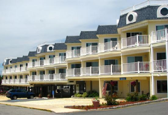 Ship Bottom, NJ : Ocean View and Oceanfront Rooms