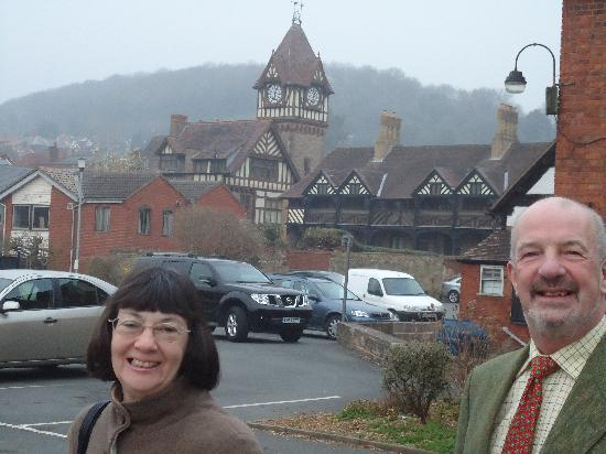 Talbot Hotel: Our friends at Ledbury Clock Tower
