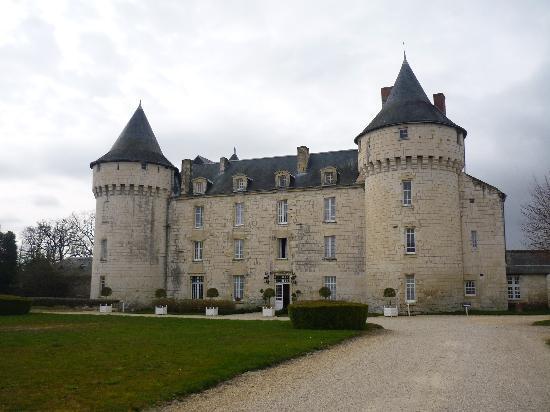 Marcay, France: Château