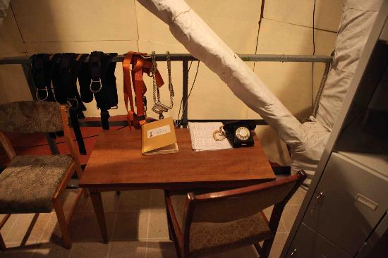 Rodina Mat (Motherland): Safety harness