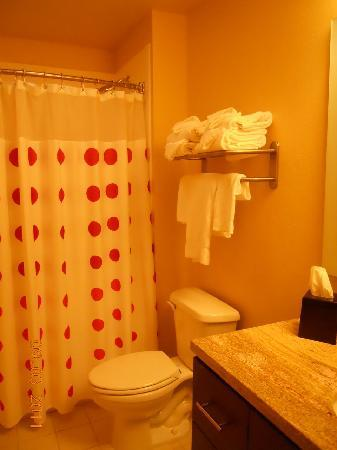 TownePlace Suites Sacramento Roseville: Bathroom