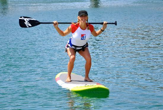 SUP Fitness Laguna: Owner Nancy Malleo