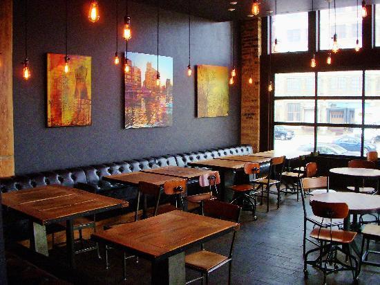 The Iron Horse Hotel Bar Lounge Area