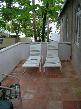 Myett's Garden Inn: our balcony