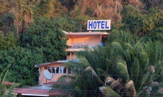 Amapala, Honduras: hotel mirador