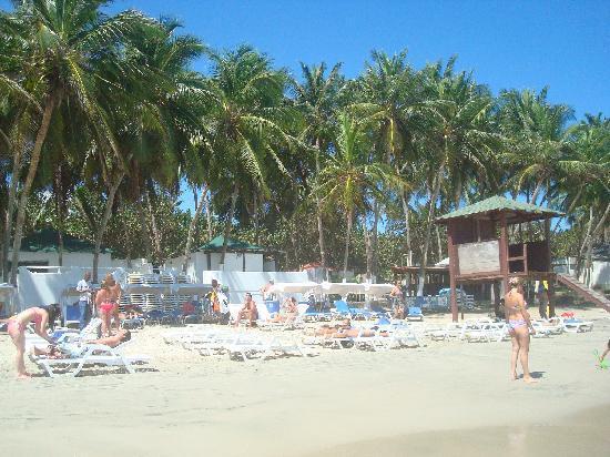 Isla Caribe Beach Hotel: Playa El Agua