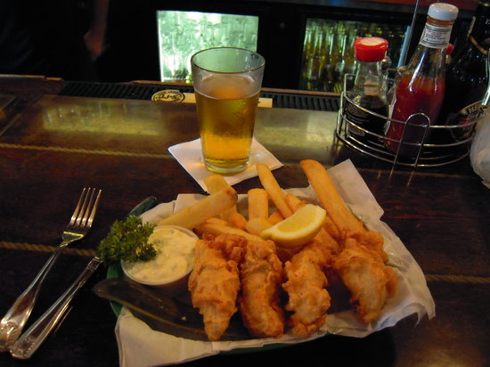 Quinn's Almost By The Sea: Ono Fish and Chips