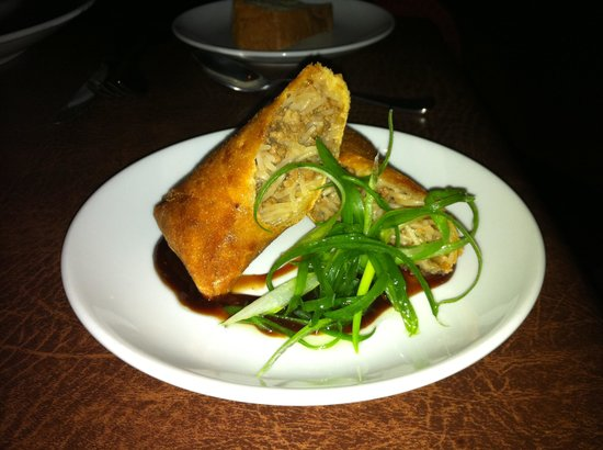 Steeples Restaurant: Pork Spring Roll from their Asian Menu