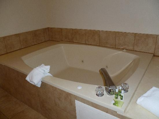 The Inn On The River: Another Jacuzzi tub pic