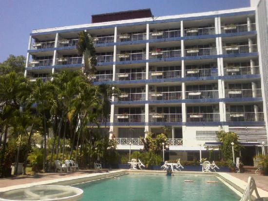 Auto Hotel Ritz Acapulco: Solitario en alberca Auto Hotel Ritz