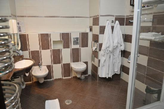 Targu Jiu, Rumania: Bathroom
