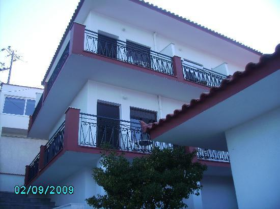 Samos Town, กรีซ: hotel Bella Vista
