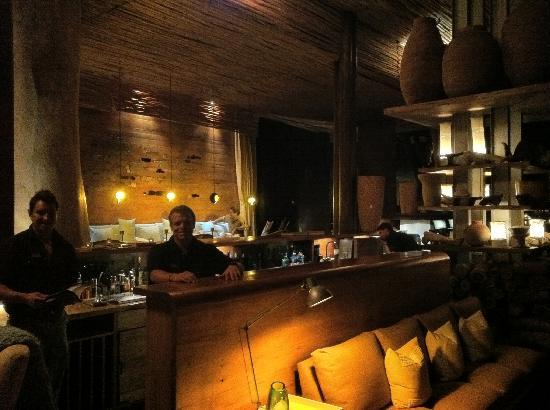 Singita Lebombo Lodge: Field guides by day.... barmen and table-hosts by night.....