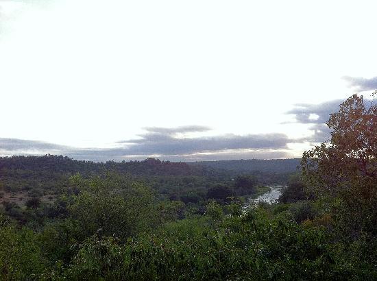 Singita Lebombo Lodge: The view from my room