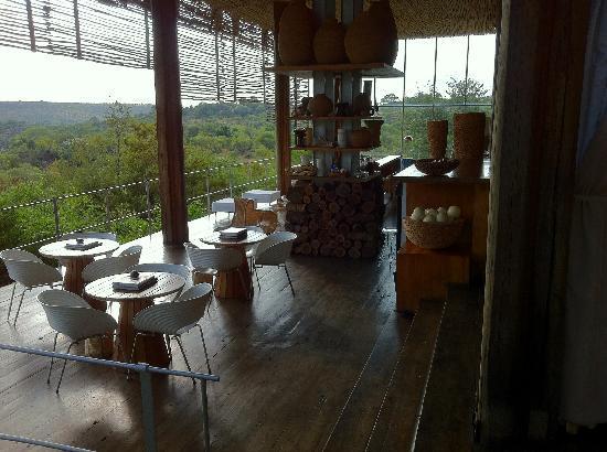 Singita Lebombo Lodge: One of the public areas