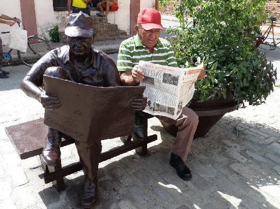 Plaza del Carmen: Doppelter Leser