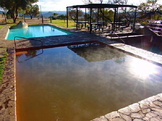 Barrydale, Zuid-Afrika: The Hot mineral water public pools
