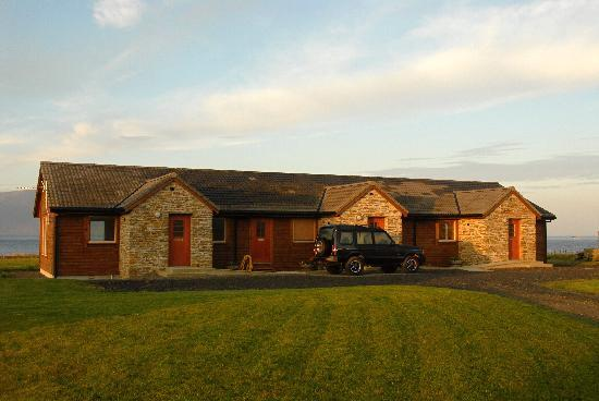 Buxa Farm Chalets & Croft House: Buxa Farm Chalets -3 chalets sleep 2-4 comfortably