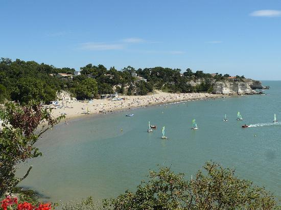 Meschers-sur-Gironde, Francia: plage des nonnes